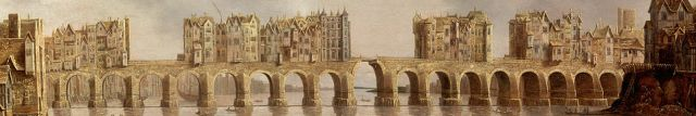 Claude de Jongh (1632), View of London Bridge (wikipedia)