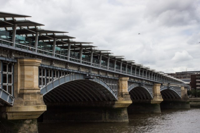 The 2nd railway bridge at Blackfriars