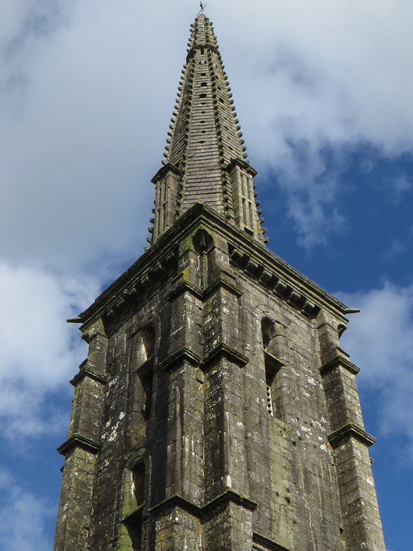 The Commana Church spire of 1592