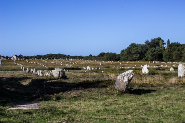 The Alignments of Menec, at Carnac