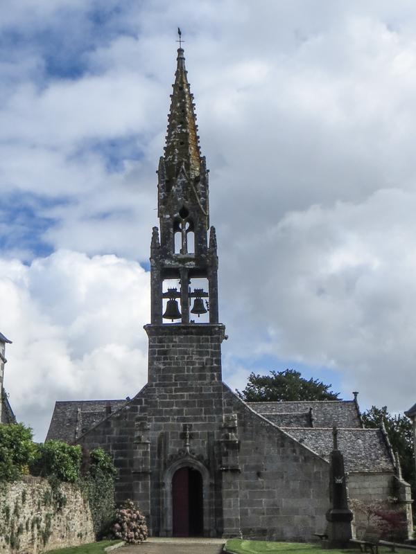 15C Church of St Genevieve, Locqueffret