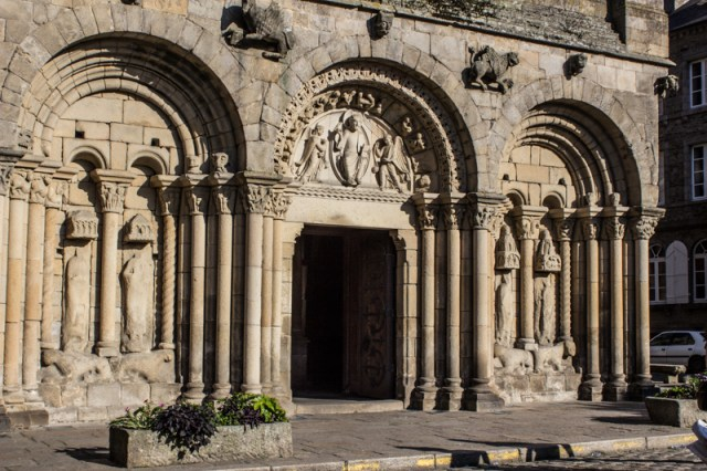 The Basilica of St Sauveur, Dinan