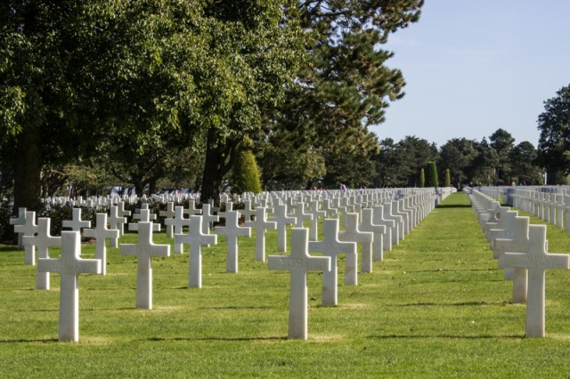 The American Cemetery, Omaha Beach