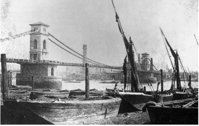 Hungerford Suspension Bridge (http://design.designmuseum.org/design/isambard-kingdom-brunel)