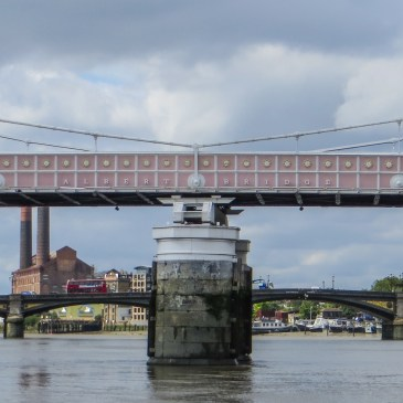 Albert Bridge – Thames Tour, Bradshaw's Handbook, no.120