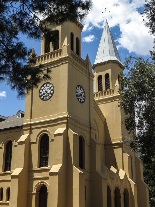 The Twin Towers Church, Bloemfontein, 1878