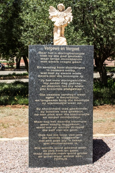 The Memorial at the Women's Memorial, Bloemfontein