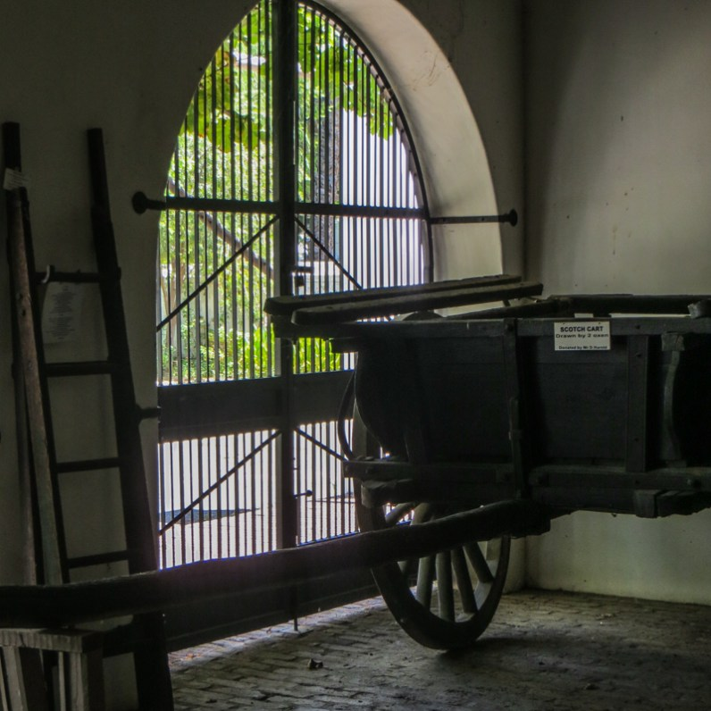The Wagon House at Reinet House