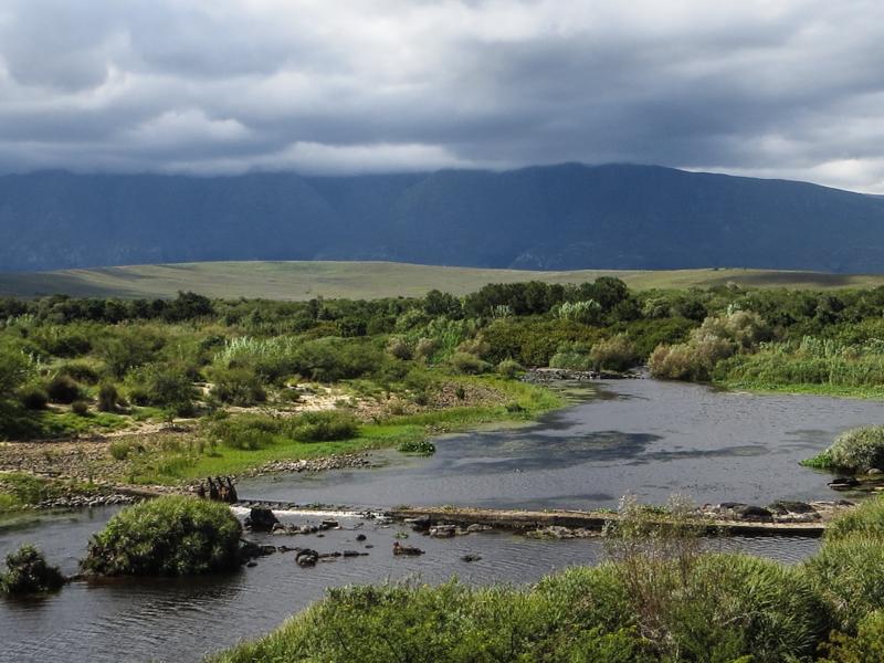The Breede River in The Bontebok National Park