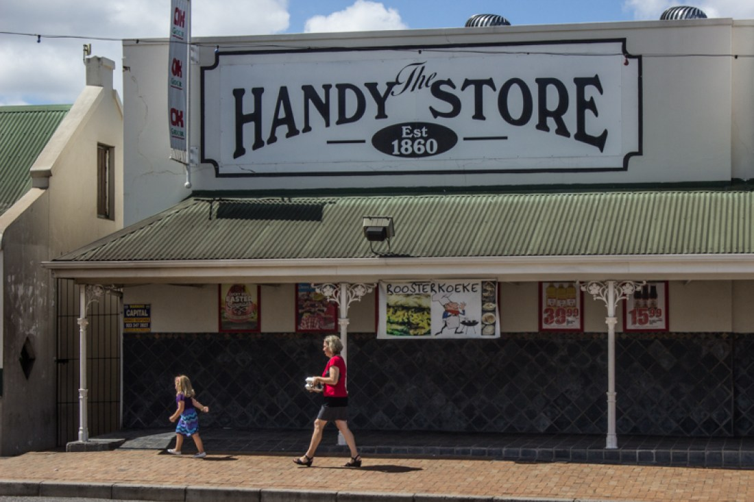 The Handy Store in Voortrek Street