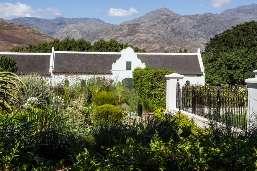 La Motte Vineyard in the Franschhoek Valley