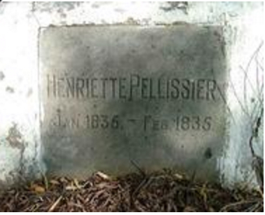 Henriette Pellissier, 1 month old