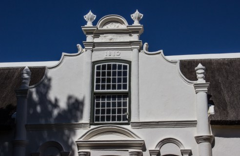 The front facade of Boschendal