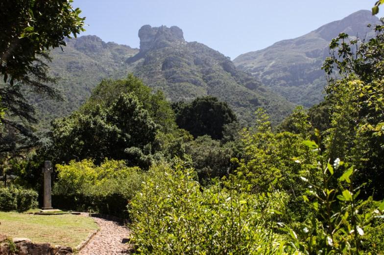 Pearson's grave at Kirstenbosch