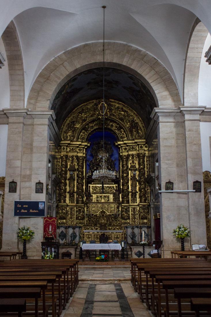The High Altar of the Church of Sao Bartolomeu
