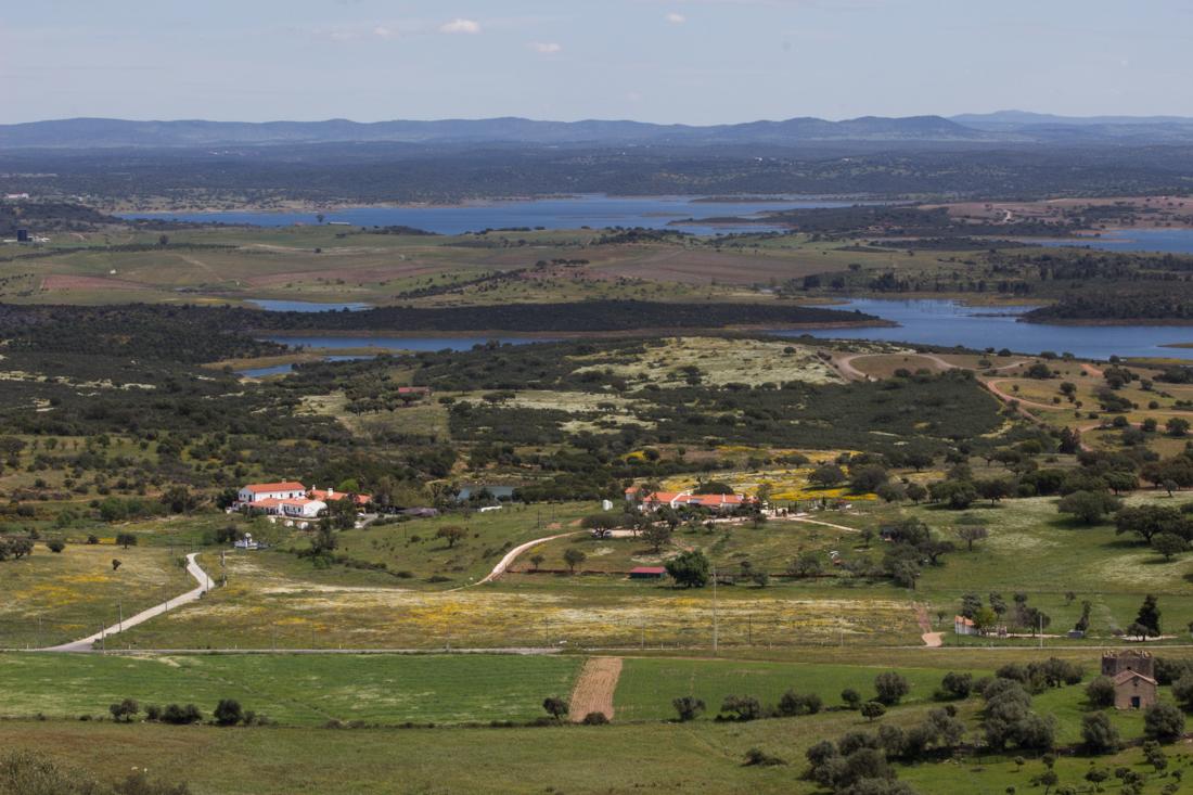 The Reservoir of Alqueva