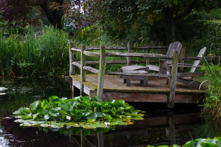 The Pond at Wyken Hall