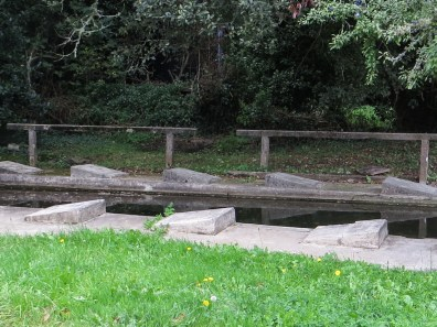 A lavoir near the Chapel of St Guenole