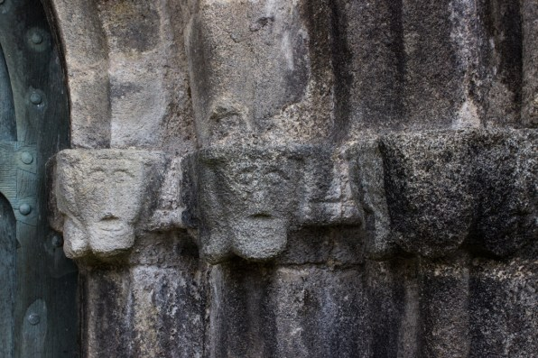 12C masks on the West Porch