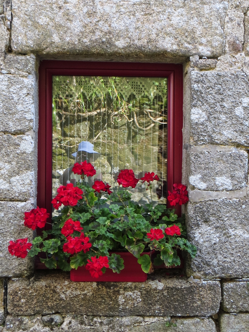 Window box in Locronan