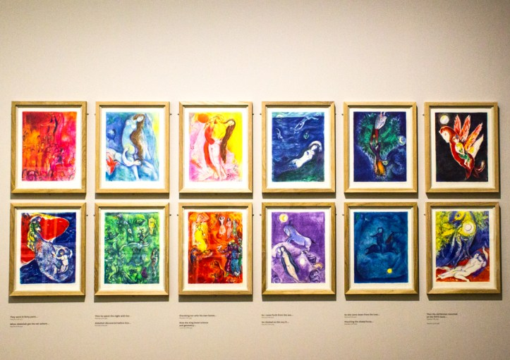 Chagall illustratons for 1001 Nights