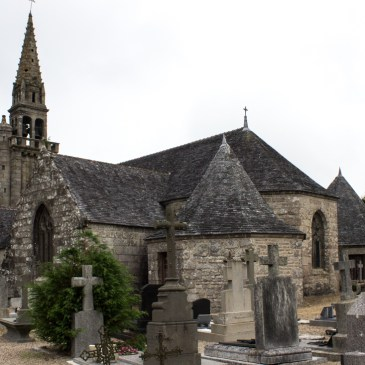 The Church of St Peter & St Paul, Poullaouen, Brittany