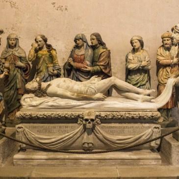 Chavagnac's 'Entombment' in Notre Dame, Lampaul-Guimiliau