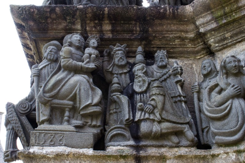 The East Face of the Calvary, St Guimiliau