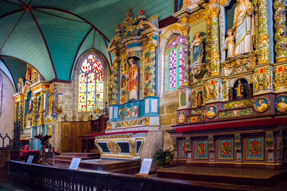 The Church of St Guimiliau