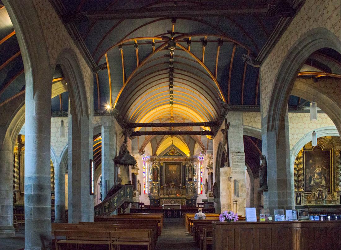 The Church of St Suliau, Sizun