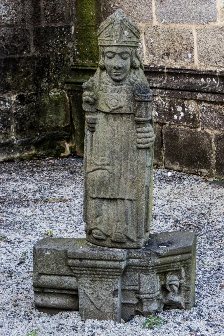 St Suliau in the churchyard of St Suliau, Sizun