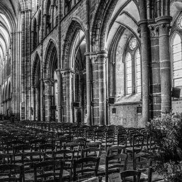 Inside the Cathedral of St Samson, Dol de Bretagne