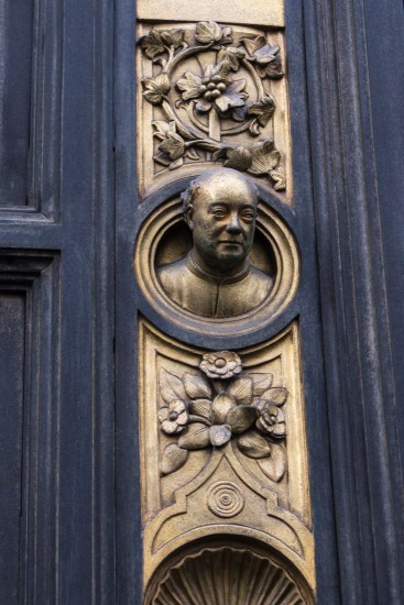 Ghiberti on the Baptistry doors