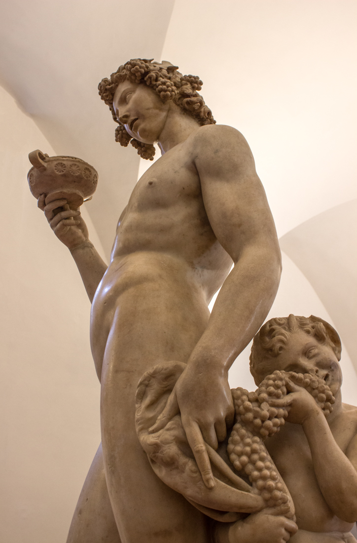 Bacchus by Michelangelo, 15C