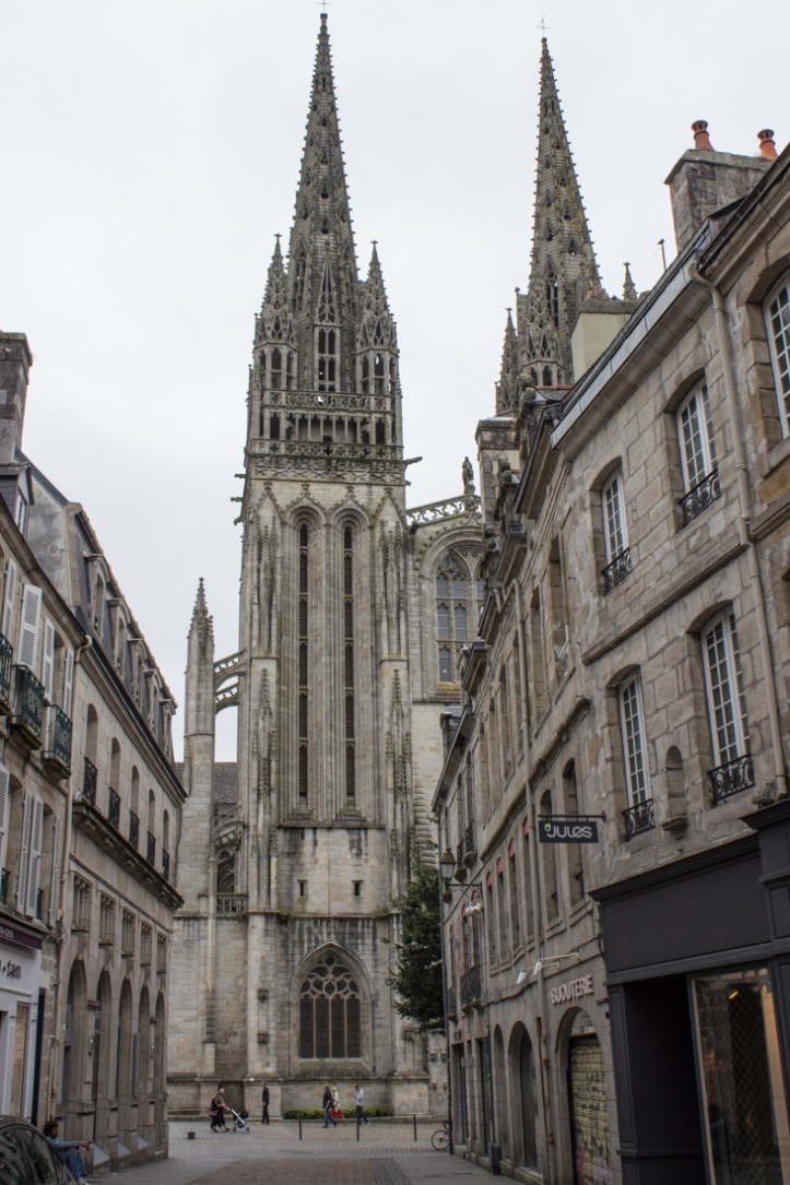 The Cathedral at Quimper