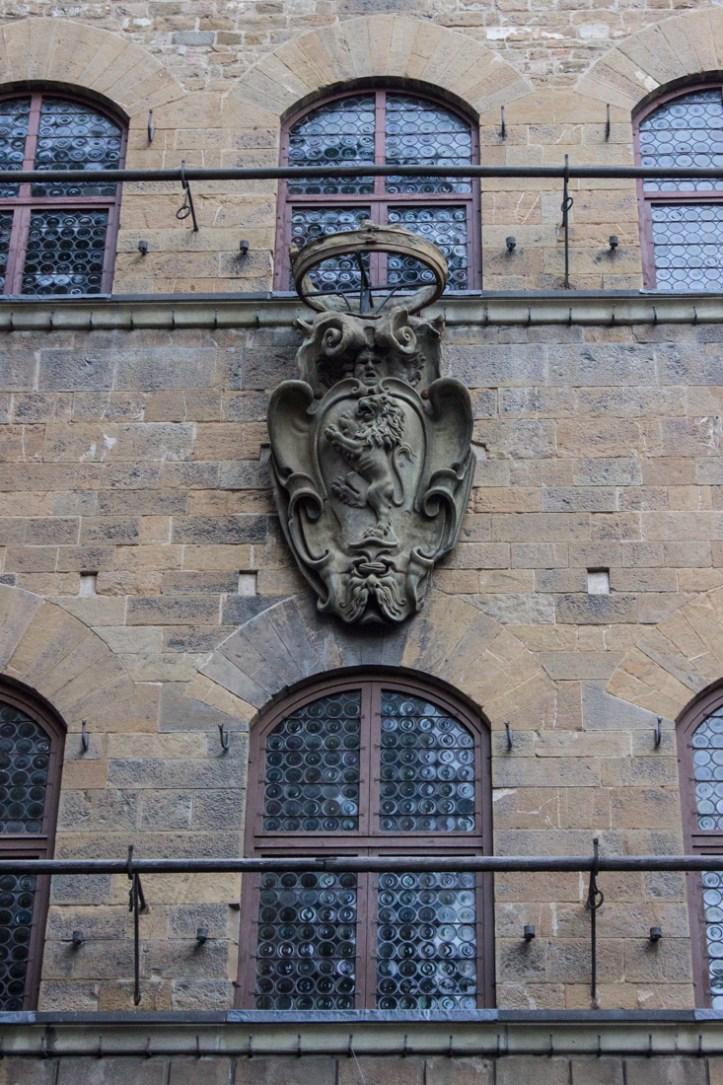 The Davanzati Palace, coat of arms