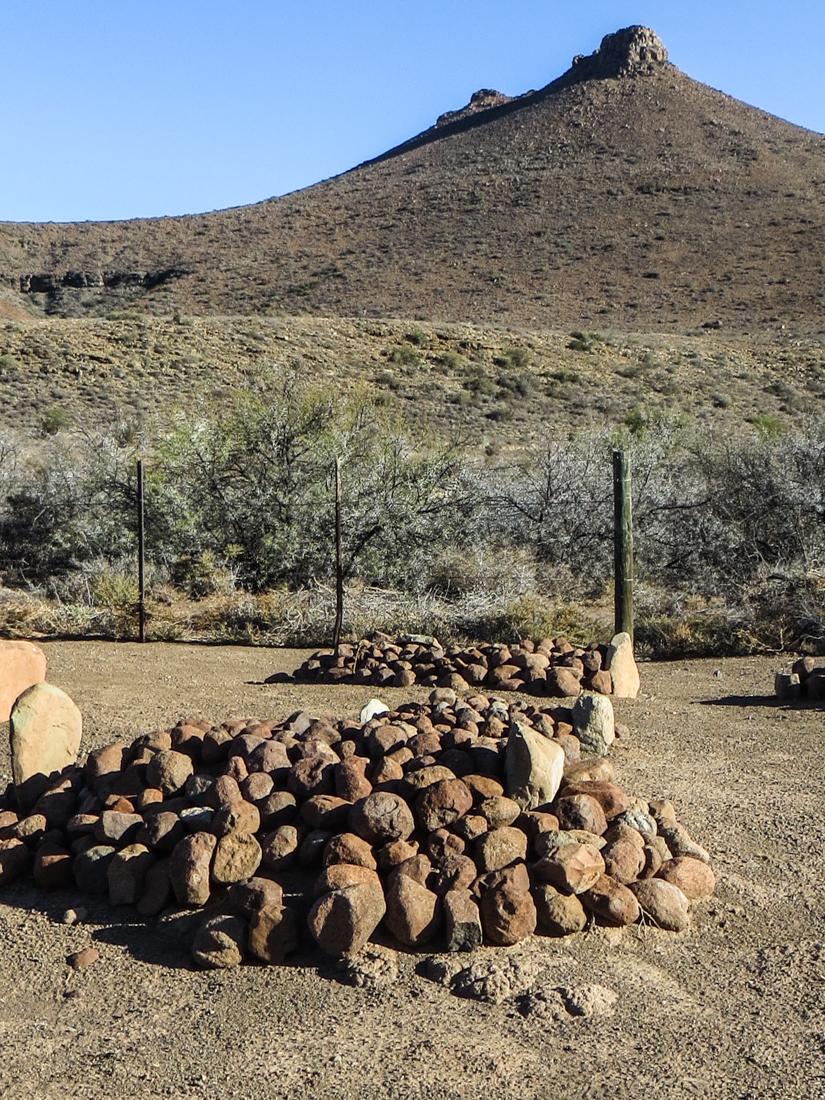 Graveyard at the Karoo National Park