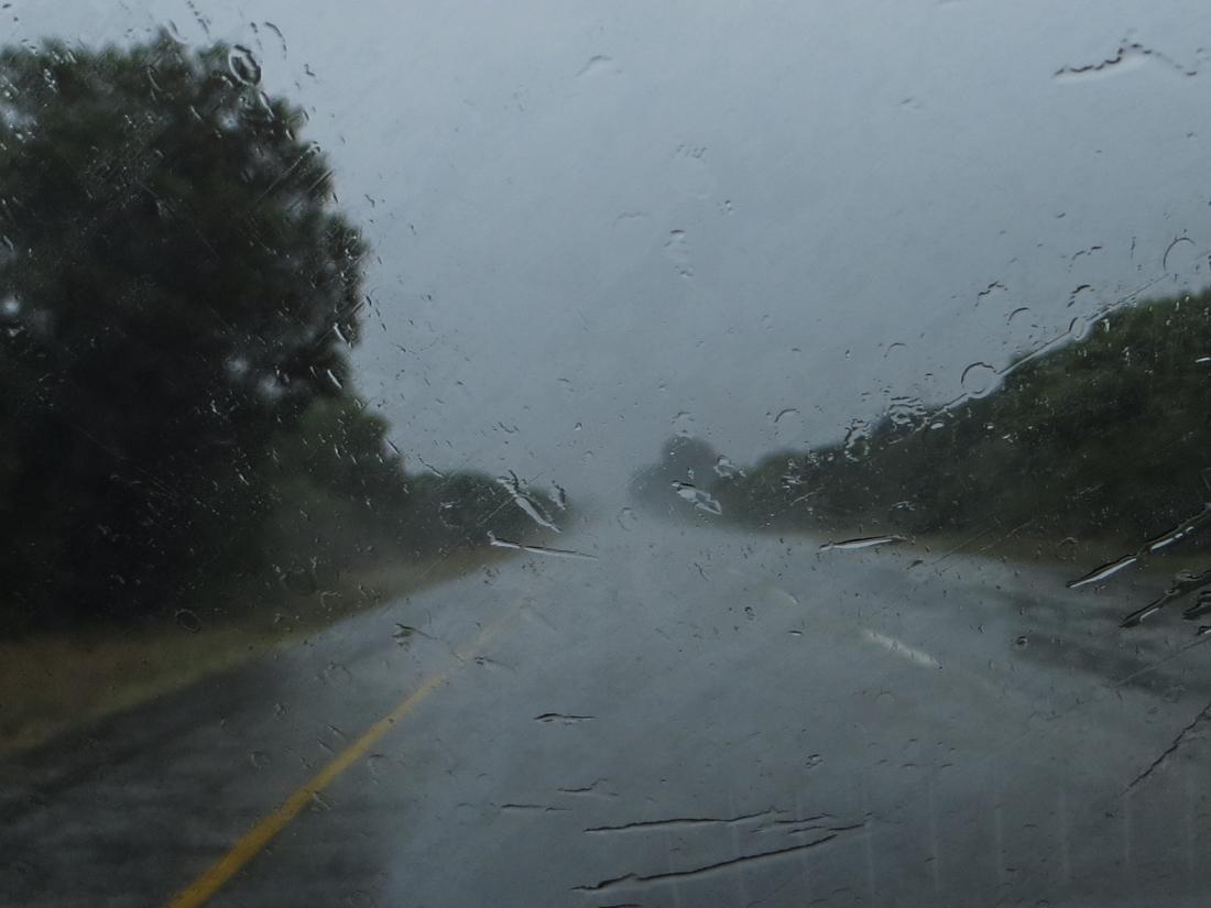 Rainy weather in PE