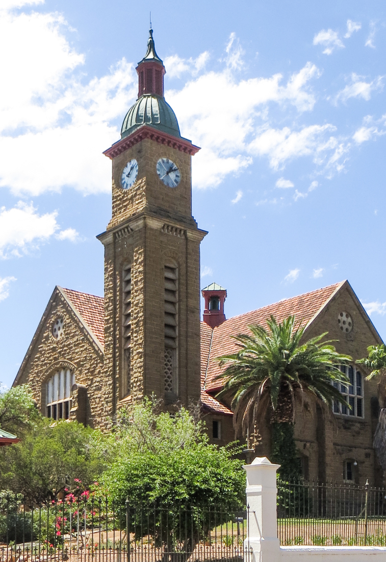 The Dutch Reformed Church in Calitzdorp