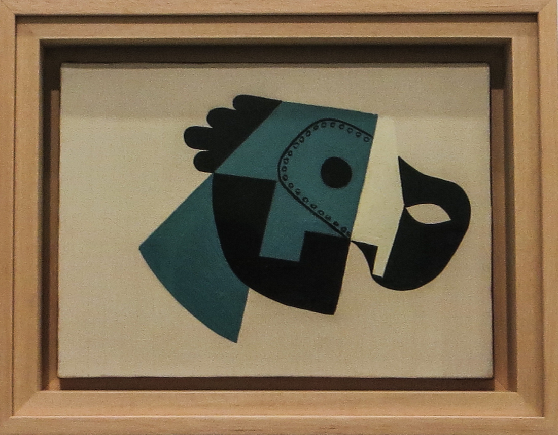 Composition with Mask & Glove, 1923