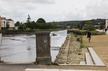 The River Elorn in Landerneau