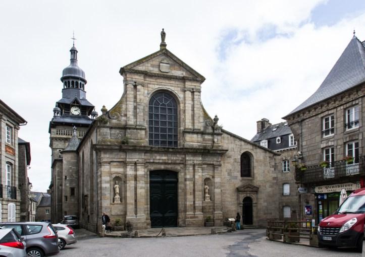 The Church of St Mathurin, Moncontour