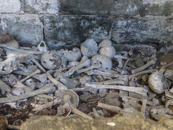 The ossuary of the Church of St Gilles in Gouarec