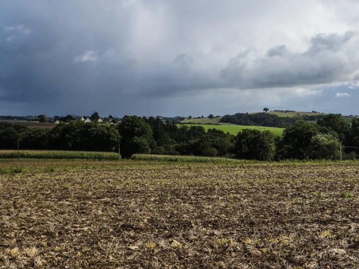 The countryside around Le Cloitre-Pleyben
