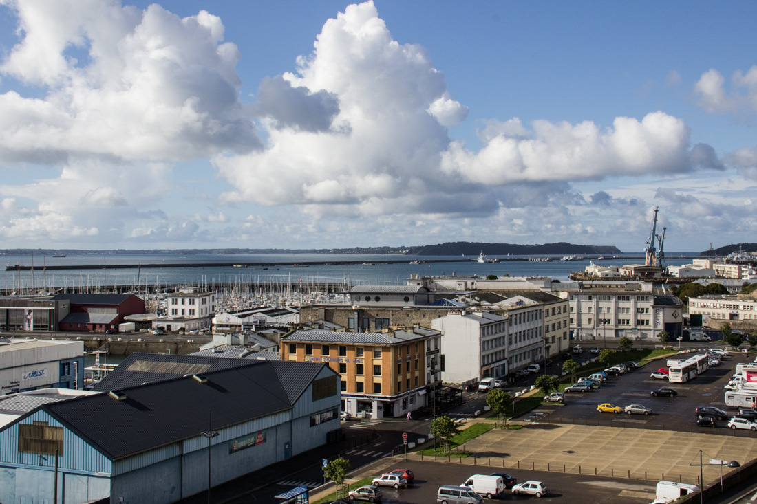 The harbour and the Rade de Brest