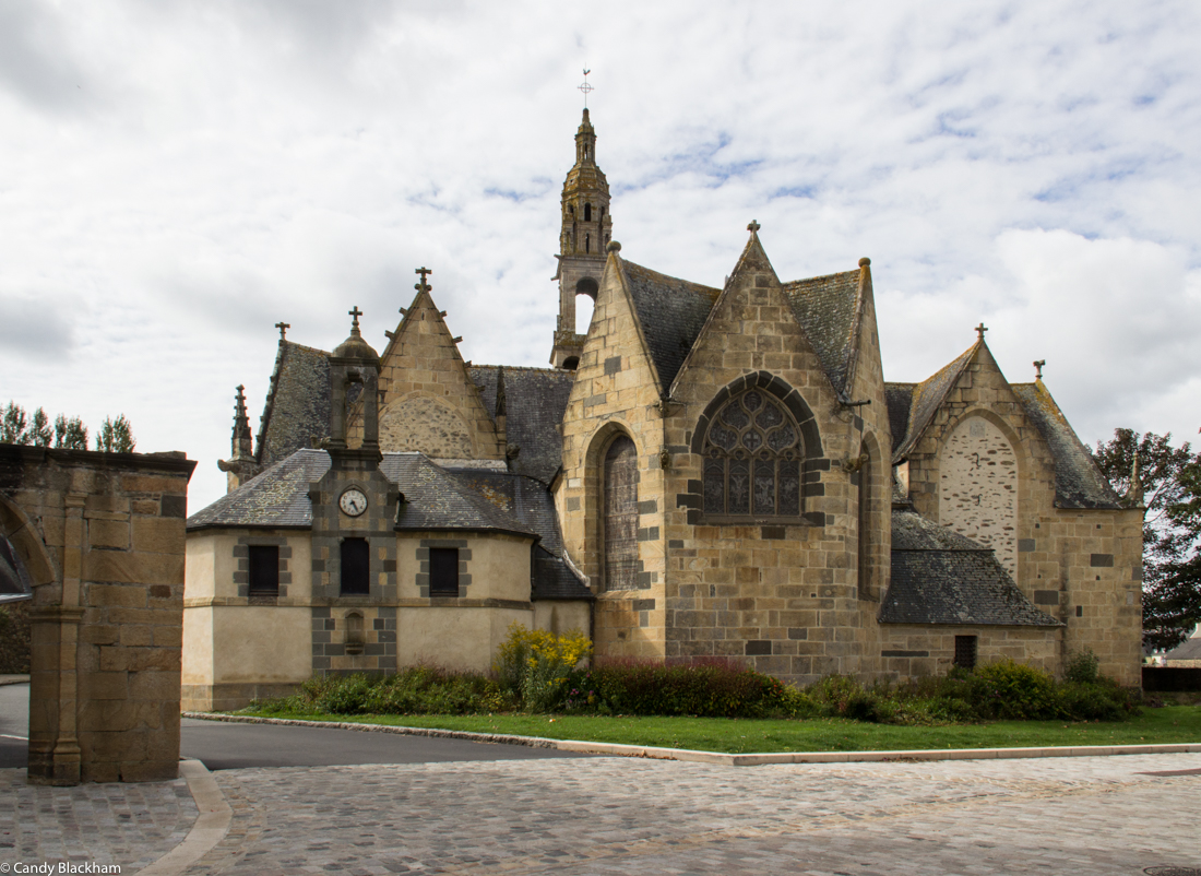 The Church of Saint Sauveur in Le Faou