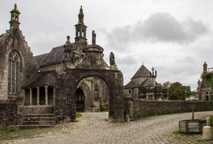 The Triumphal Arch at Guimiliau