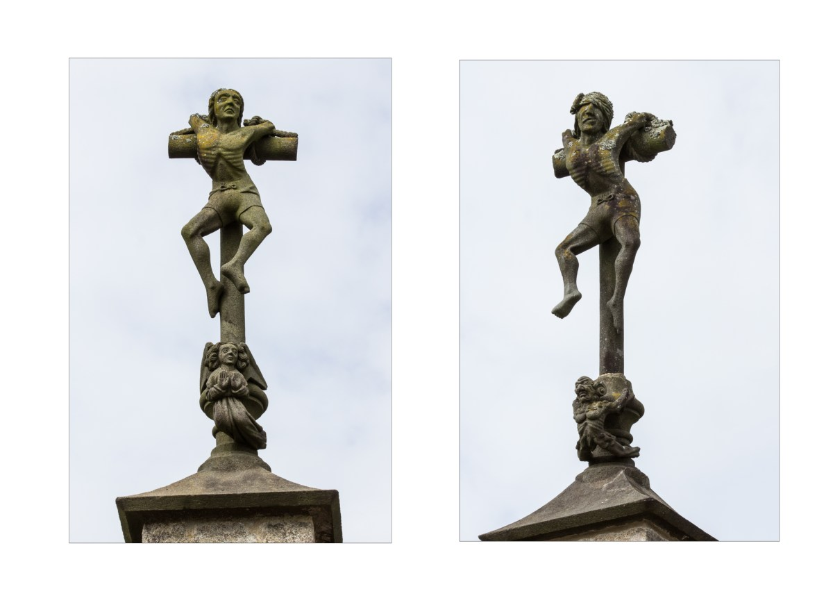 The Robbers on the Calvary, The Church of St Salomon, La Martyre