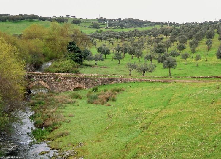 Roman bridge of Choconal, below Crato