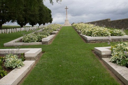 The Citadel New Military Cemetery, Fricourt